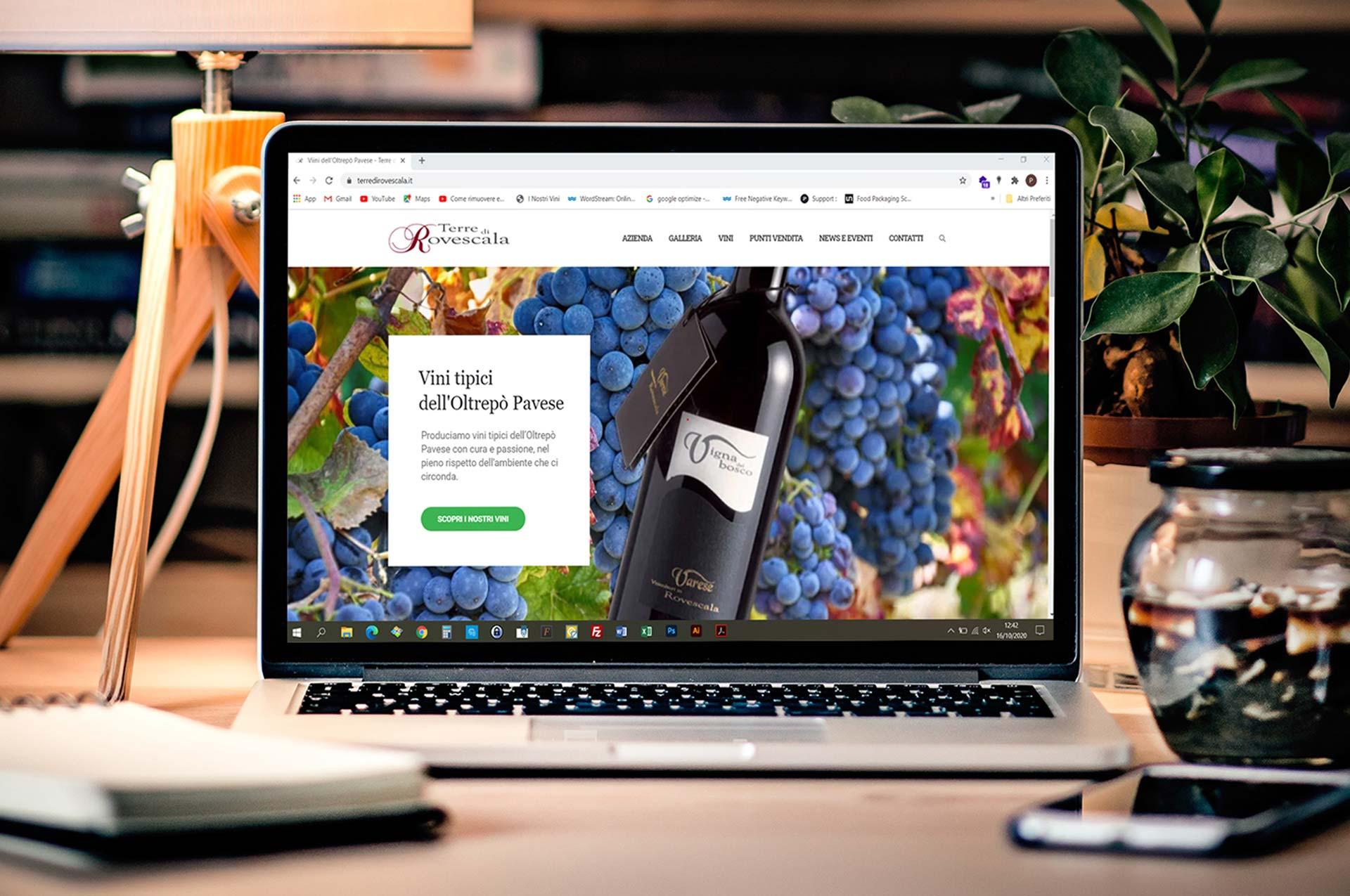 Nuovo sito web Terre di Rovescala